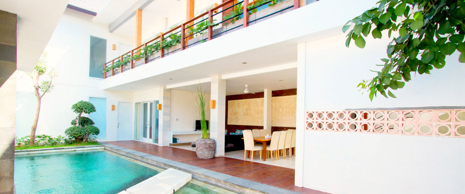 Apple Villa & Apartment Kerobokan Canggu - 5 Bedroom Villa