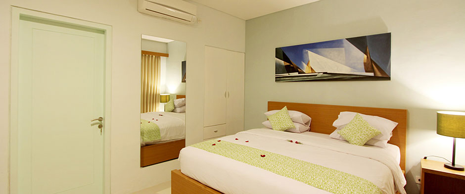 Apple Suite & Apartment Kerobokan Seminyak - Studio Room